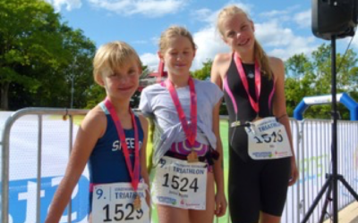 Die Kids beim Triathlon Ratingen